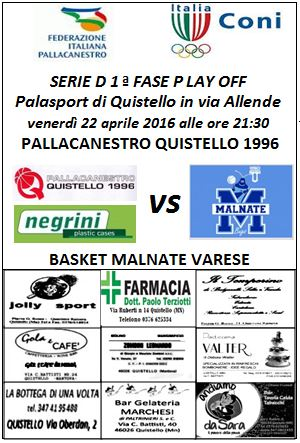 Play Off Malnate