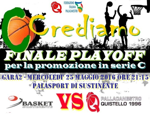 PLAYOFF GARA 2 QUISTELLO